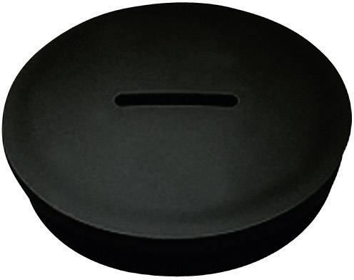 Záslepka KSS MSPR12, (B x C x D) 15,0 x 10,0 x 6,0 mm, černá
