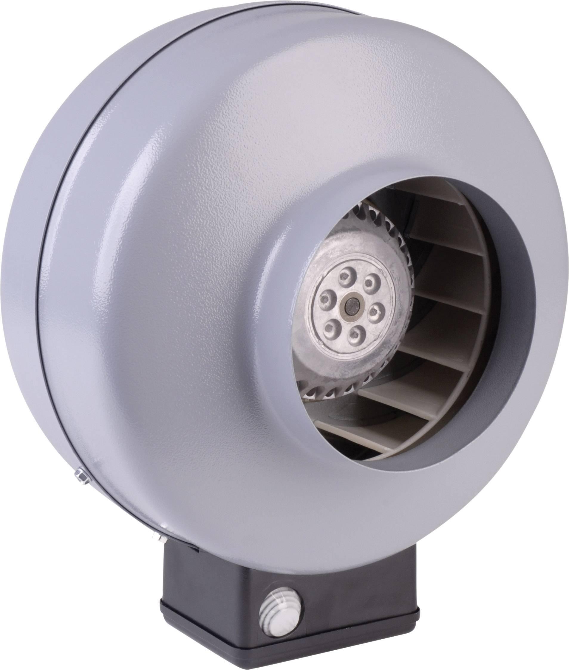 Trubkový radiální ventilátor Wallair, Ø 100 mm