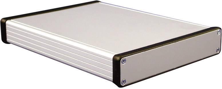 Hliníkové pouzdro 1455 Hammond Electronics 1455R2201, 223 x 160 x 30.5 , hliník