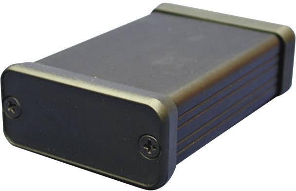 Hliníkové pouzdro 1455 Hammond Electronics 1455P2201BK, 223 x 120.5 x 30.5 , černá