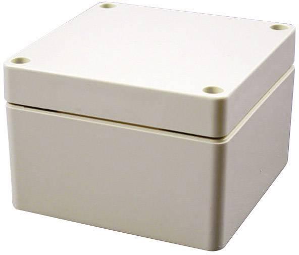Univerzálne púzdro Hammond Electronics 1554NGY 1554NGY, 120 x 120 x 60 , ABS, svetlo sivá (RAL 7035), 1 ks