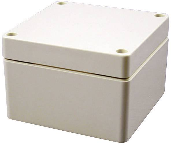 Univerzálne púzdro Hammond Electronics 1554PGY 1554PGY, 120 x 120 x 80 , ABS, svetlo sivá (RAL 7035), 1 ks