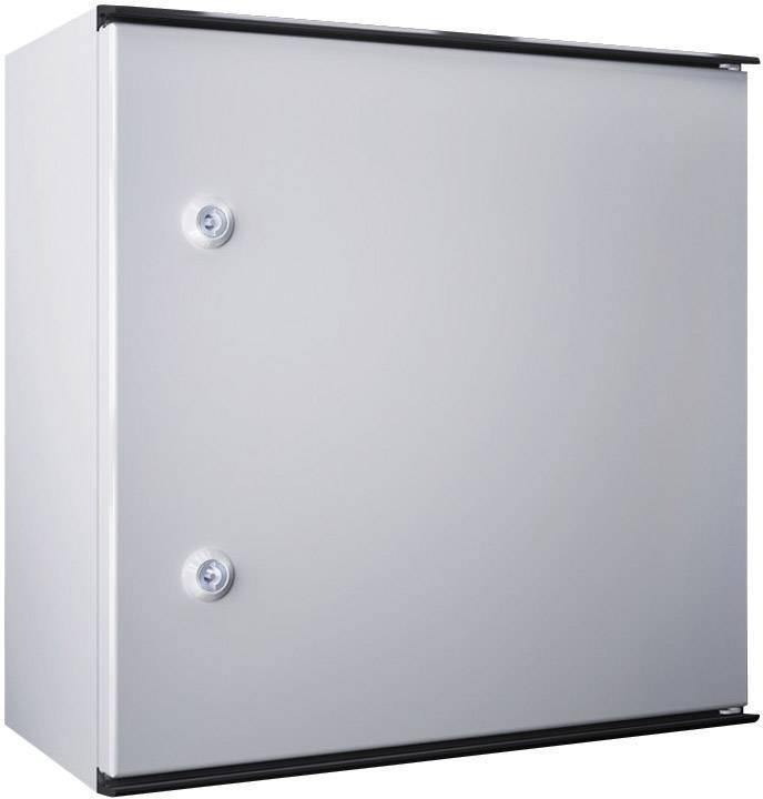Plastový skříňový rozvaděč KS Rittal KS 1400.500, 1000 x 1000 x 300 mm, světle šedá