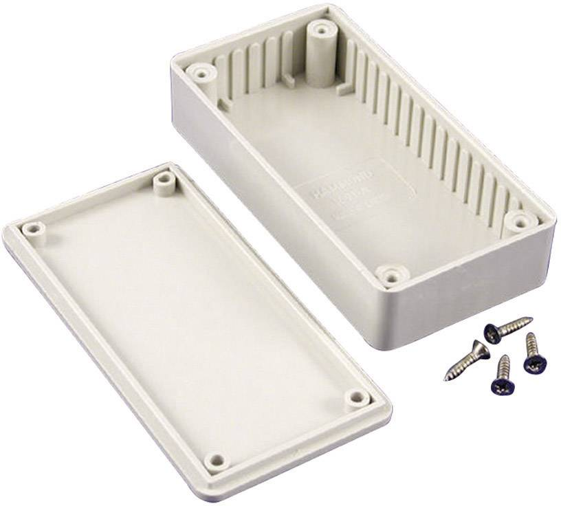 Univerzální pouzdro ABS Hammond Electronics, (d x š x v) 110 x 82 x 44 mm, šedá