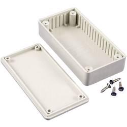 Univerzální pouzdro ABS Hammond Electronics, (d x š x v) 112 x 62 x 31 mm, šedá