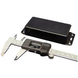 Univerzální pouzdro ABS Hammond Electronics, (d x š x v) 120 x 80 x 59 mm, černá