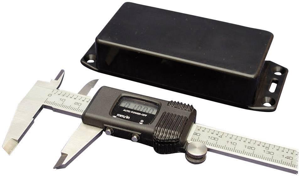 Univerzálne púzdro Hammond Electronics 1591ASFLBK 1591ASFLBK, 100 x 50 x 25 , ABS, čierna, 1 ks