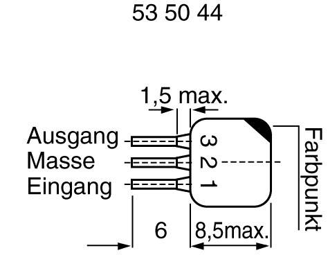 Odrušovací filter L10.7 A L10.7 A, 1 ks