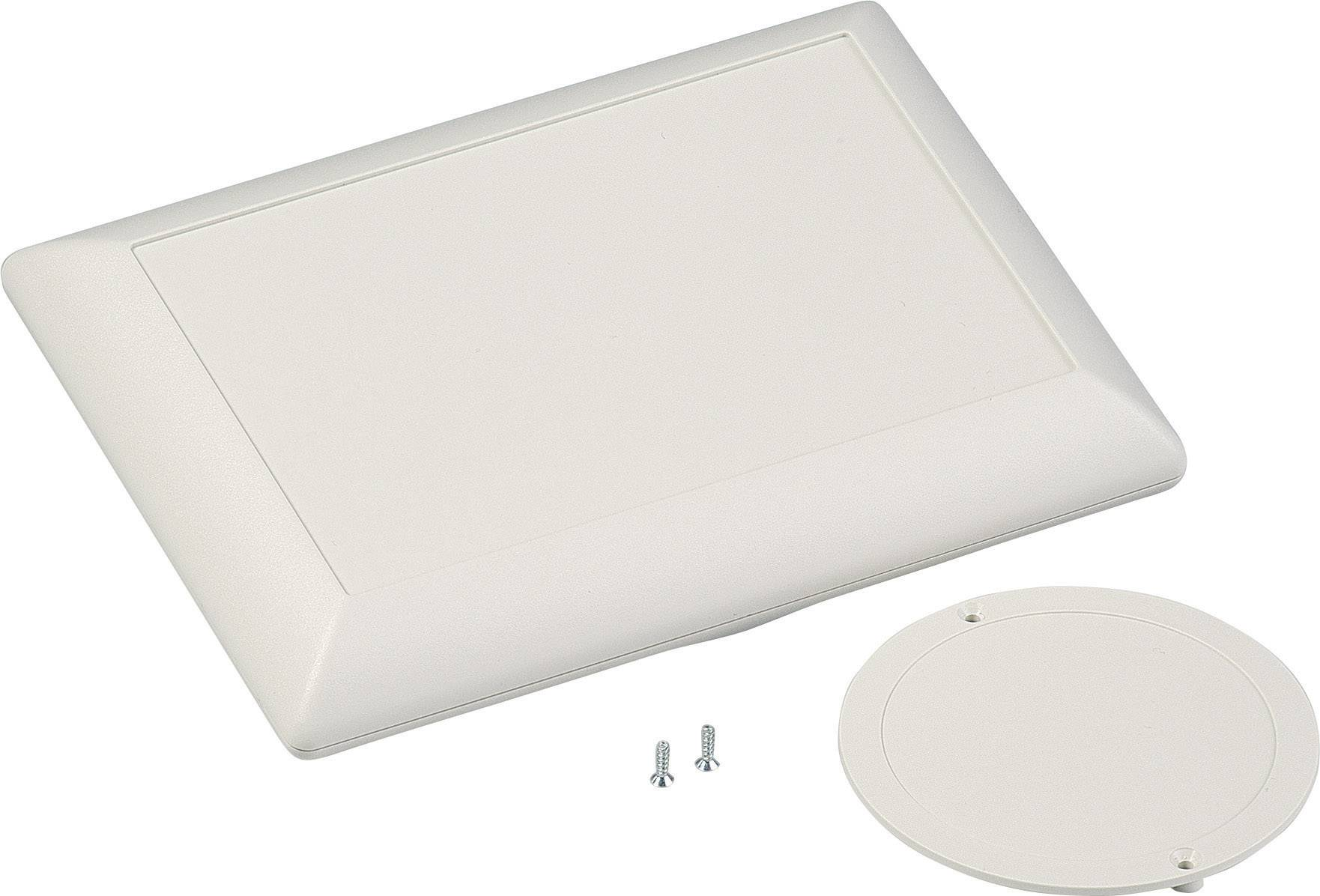 Pultové pouzdro ABS OKW D5017247, (d x š x v) 160 x 110 x 40 mm, šedá