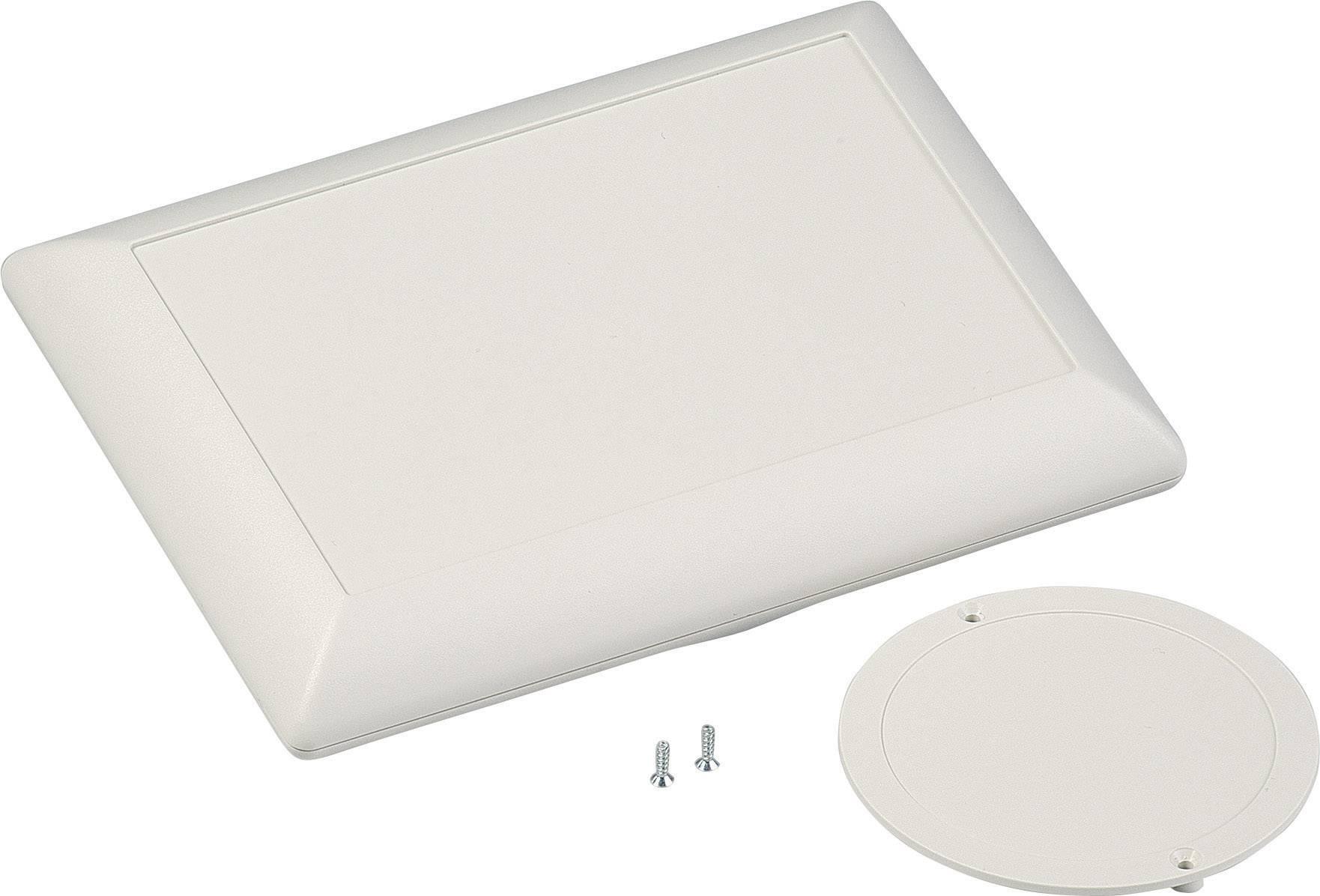 Skrinka na ovládací pult OKW Art-Case D5017247, 160 x 110 x 40 mm, ABS, sivobiela (RAL 9002), 1 sada