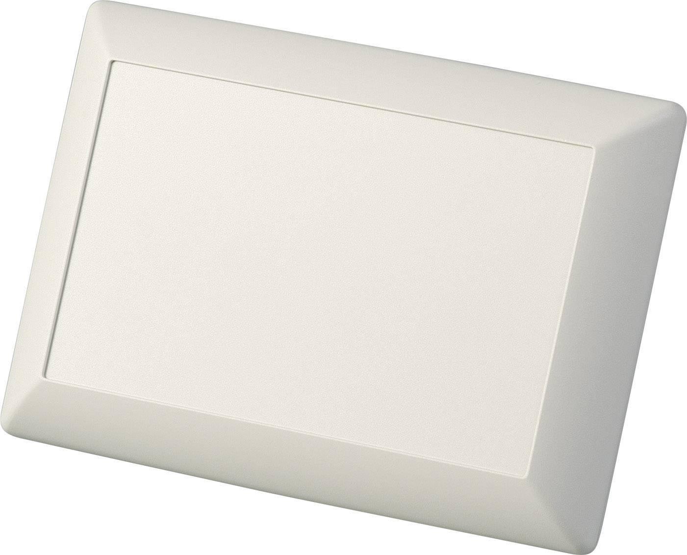 Skrinka na ovládací pult OKW Art-Case D5017607, 160 x 110 x 66 mm, ABS, sivobiela (RAL 9002), 1 sada