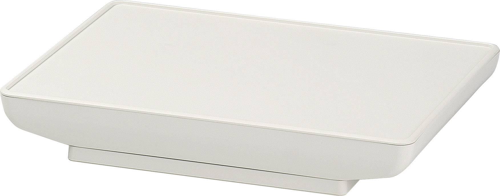 Skrinka na ovládací pult OKW D4044127, 166 x 225 x 37 mm, umelá hmota, sivobiela (RAL 9002), 1 sada