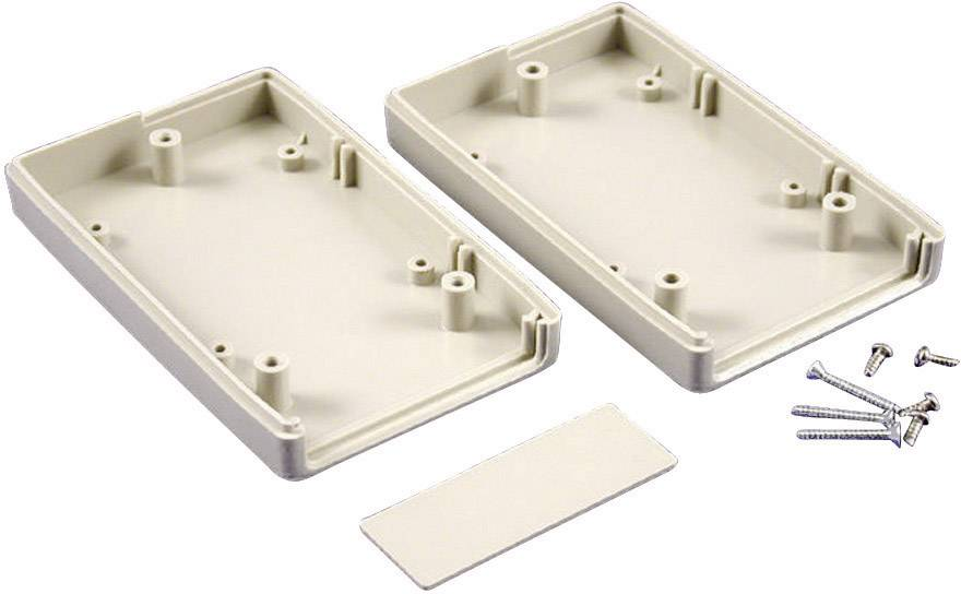Plastová krabička Hammond Electronics RH3165, 165 x 100 x 32 mm, ABS, svetlo sivá (RAL 7035), 1 ks