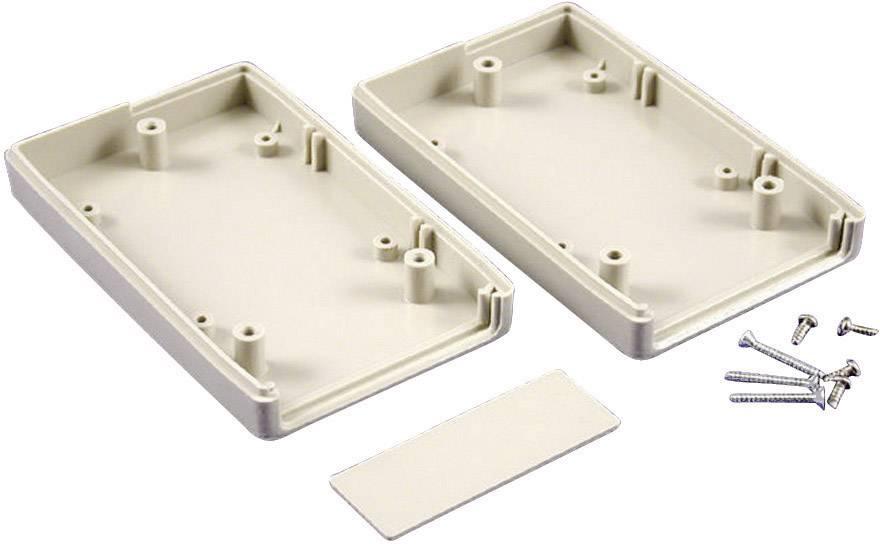 Plastová krabička Hammond Electronics RH3195, 190 x 100 x 40 mm, ABS, svetlo sivá (RAL 7035), 1 ks