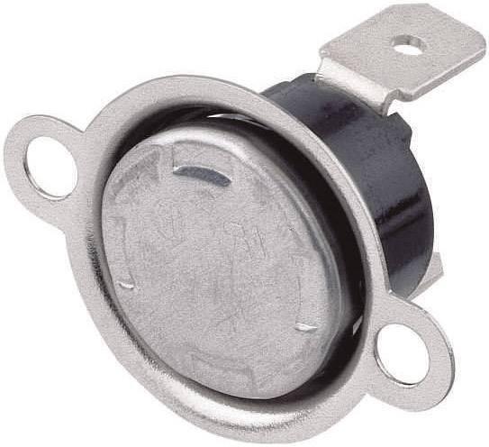 Bimetalový spínač, 10 A, 250 V, 85/70 °C