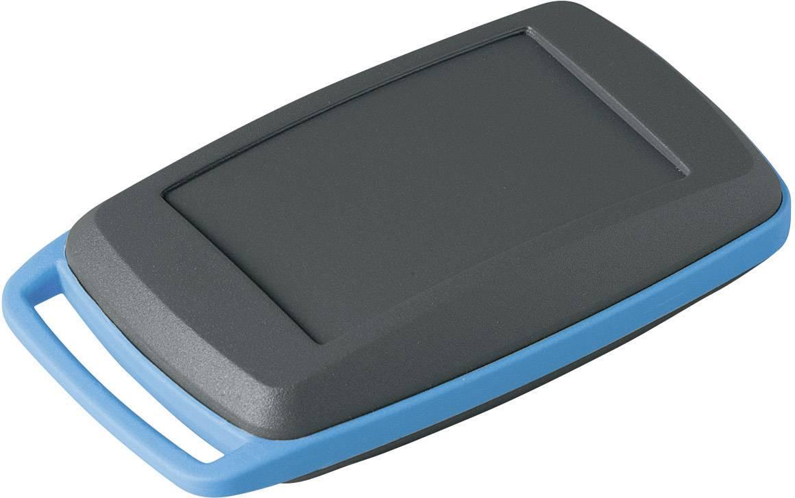Plastová krabička OKW D9004088, 68 x 42 x 18 mm, umelá hmota, IP41, lávová, modrá, 1 sada