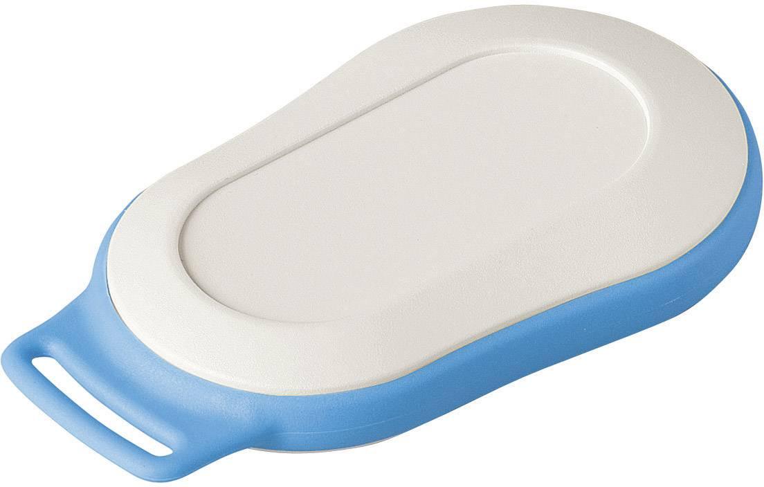 Plastová krabička OKW MINITEC D9004237, 70 x 44 x 16 mm, umelá hmota, IP41, sivobiela, modrá, 1 sada