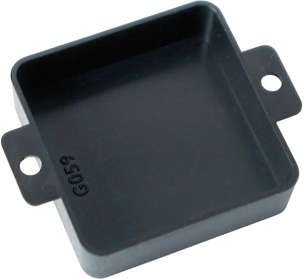 Modulová krabička Kemo G059 G059, 40 x 40 x 12 , umelá hmota, čierna, 1 ks