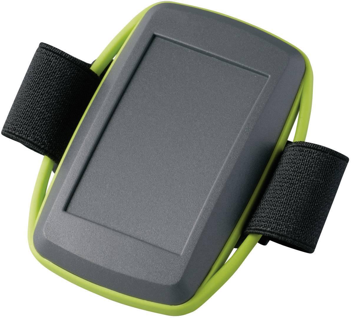 Plastová krabička OKW MINITEC D9106178, 78 x 48 x 20 mm, umelá hmota, IP40, lávová, zelená, 1 sada