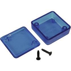 Univerzální pouzdro ABS Hammond Electronics, (d x š x v) 40 x 40 x 15 mm, modrá
