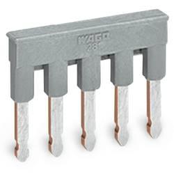 Comb-style jumper bar, WAGO 281-485, 100 ks