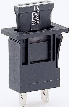 Držiak poistky ESKA 370000 370000, Vhodné pre štandardná plochá poistka, 30 A, 96 V/DC, 1 ks