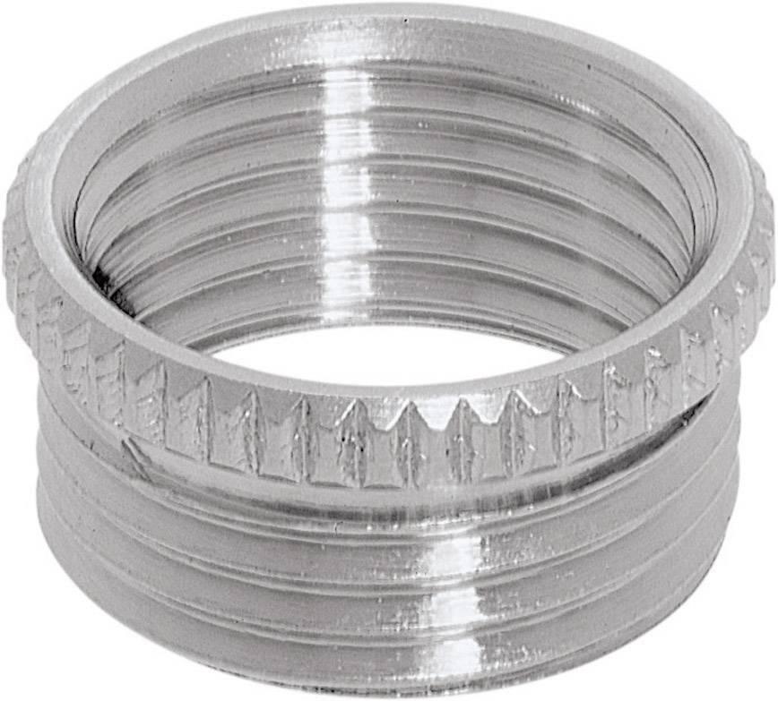 Adaptér šroubové spojky LappKabel Skindicht MA-PG/M 16/20x1,5 flach (52104495), PG16, mosaz