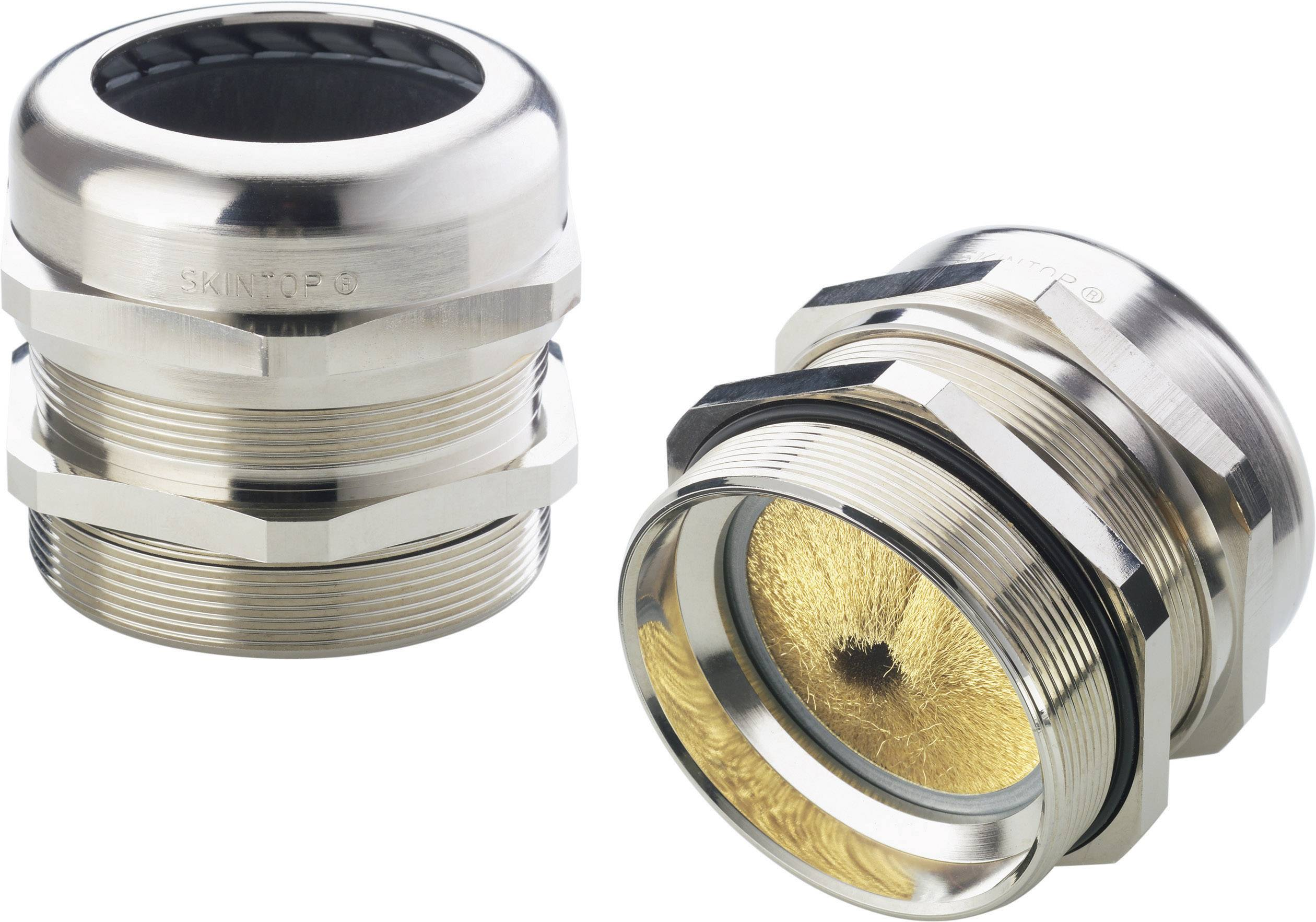 Káblová priechodka LappKabel SKINTOP® MS-M BRUSH 63x1,5 plus, mosadz, mosadz, 1 ks