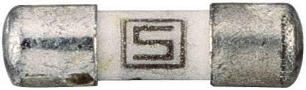 SMD pojistka Schurter rychlá 7010.9810, 125 V, 1 A, 2 mm x 7 mm