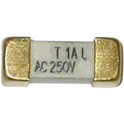 SMD pojistka ESKA pomalá 225016, 250 V, 800 mA, 12,1 mm x 4.45 mm