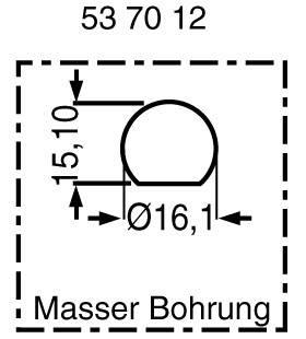 Istič NONAME 540000, 250 V/AC, 32 V/DC, 1 A, 1 ks