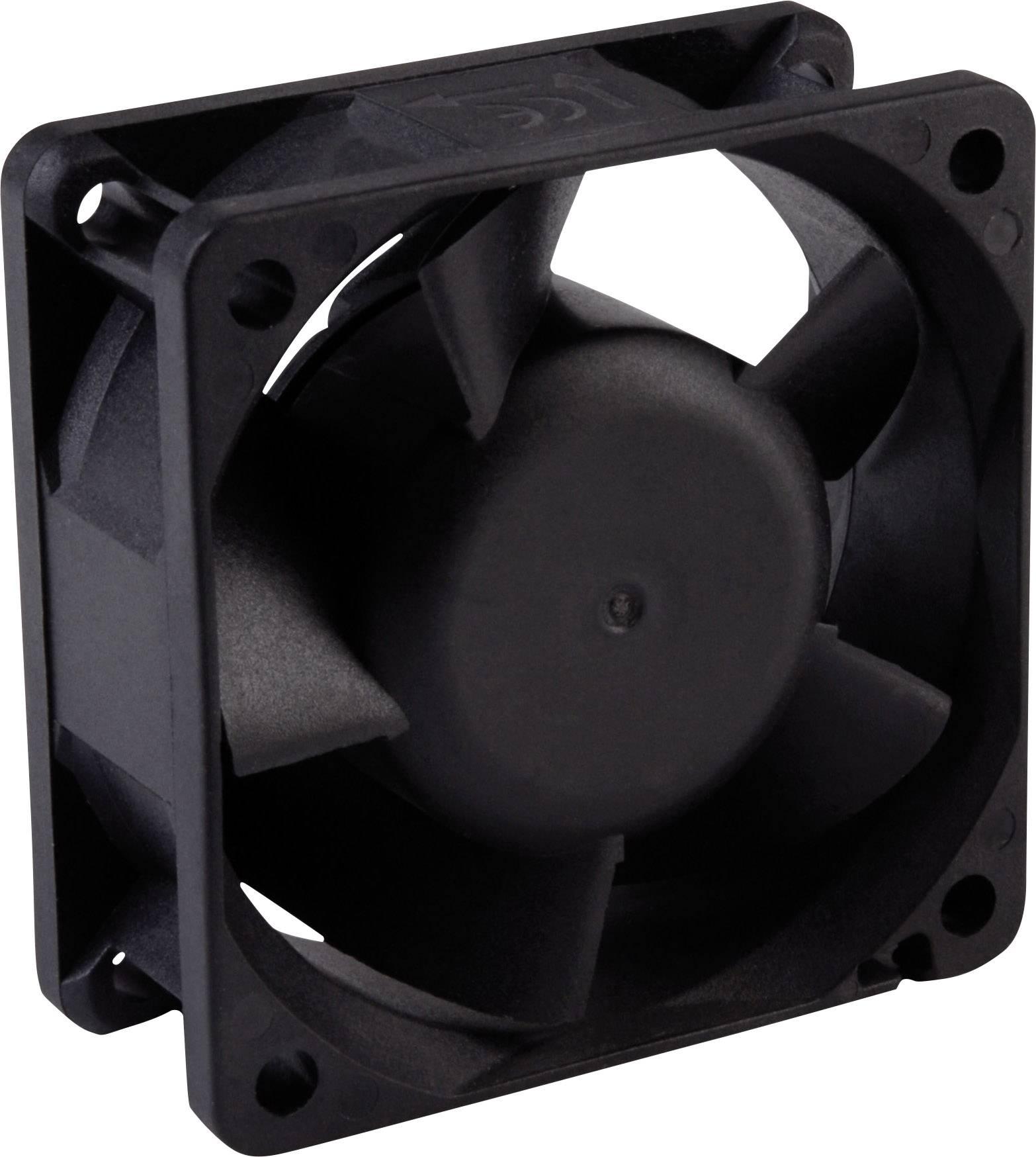 Axiální ventilátor Wallair 20100304, 12 V, 60 x 60 x 25 mm