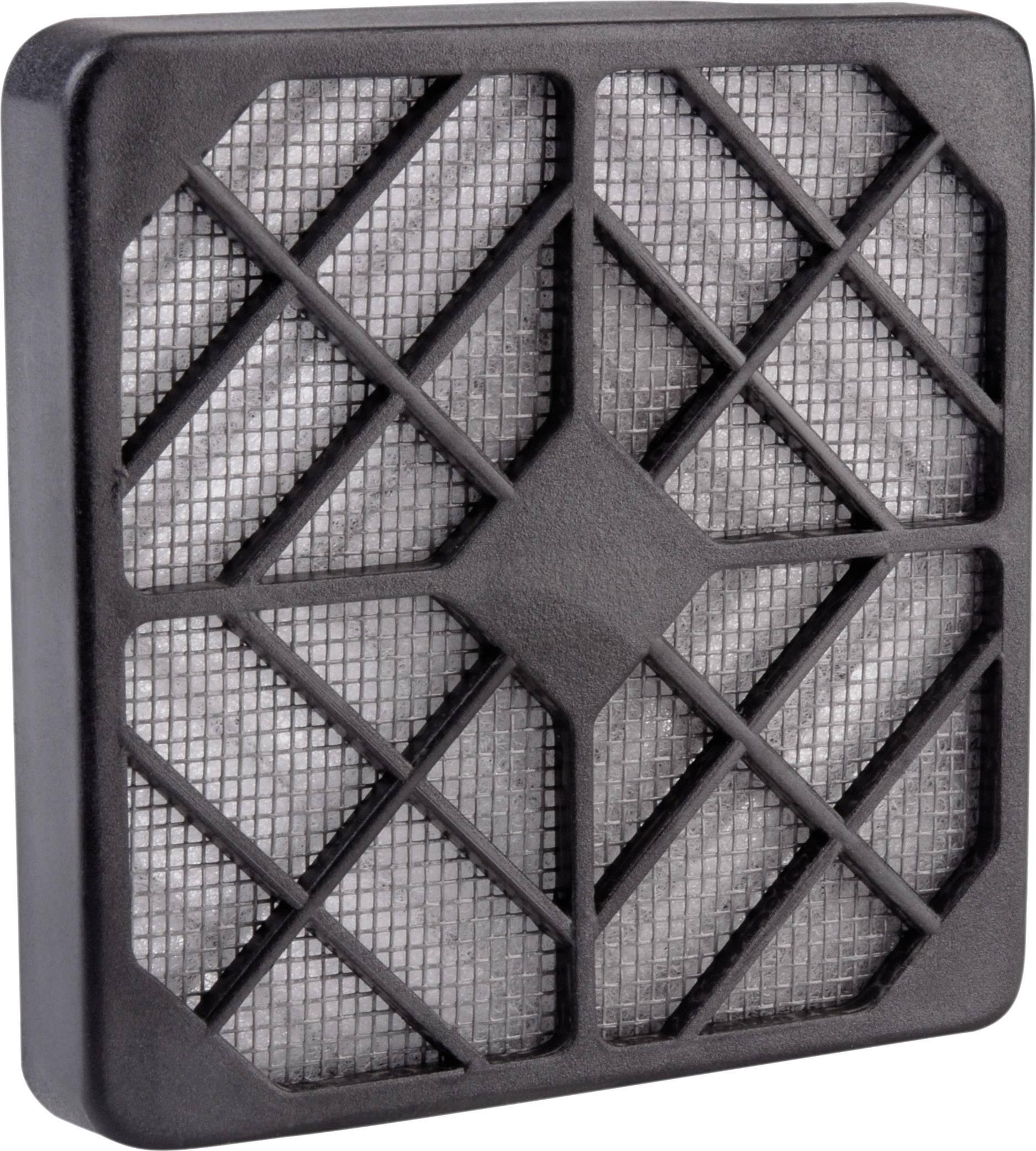 Ochranná mriežka s filtrom Wallair 20100316, čierna