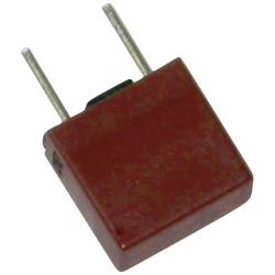 Mini pojistka ESKA 883109, radiální, hranatý, 160 mA, 250 V, T pomalá, 500 ks