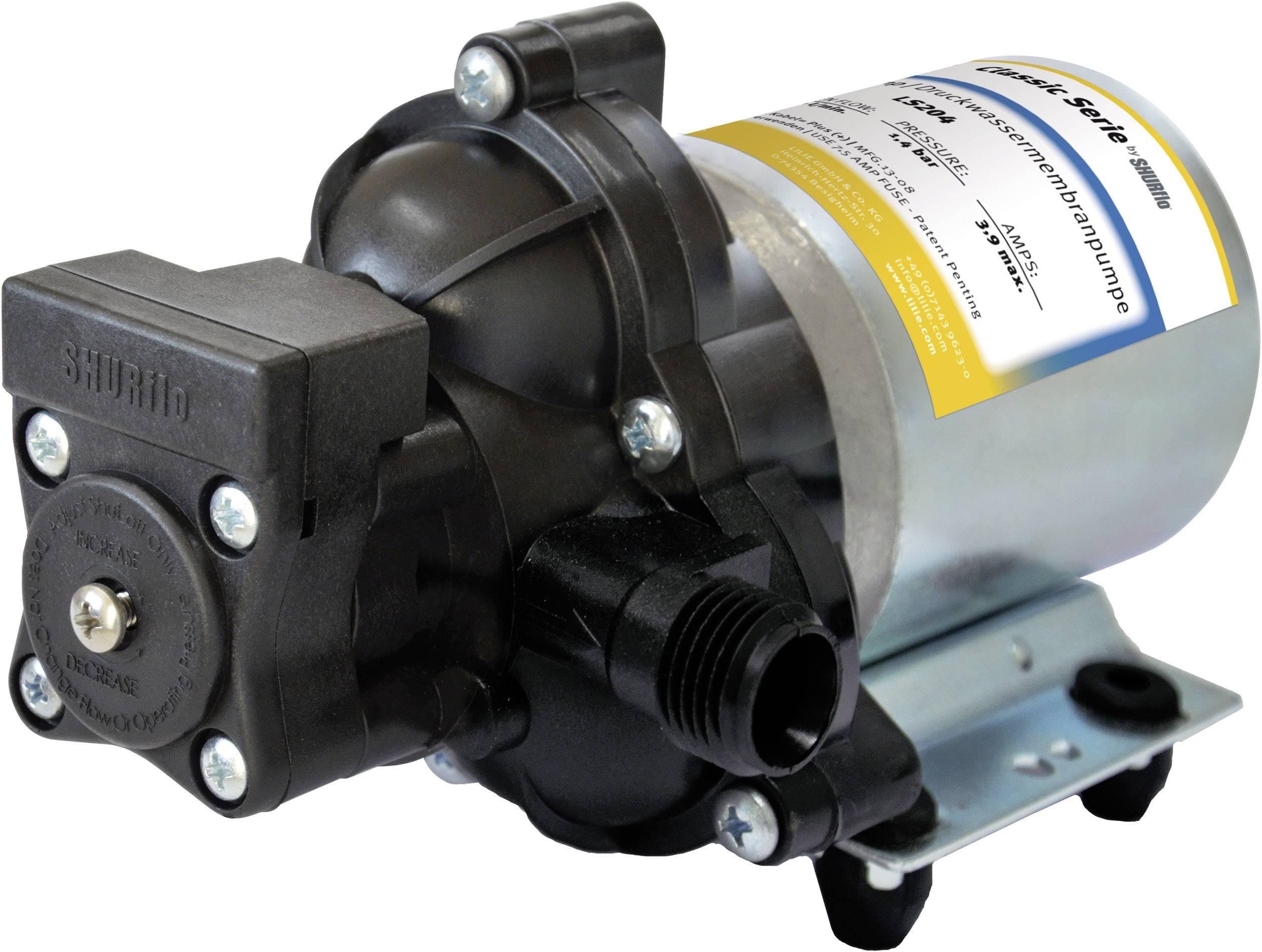 Automatické tlakové čerpadlo SHURflo Trail King, S204C, 12 V, 4 A, 7 l/min, 7 m