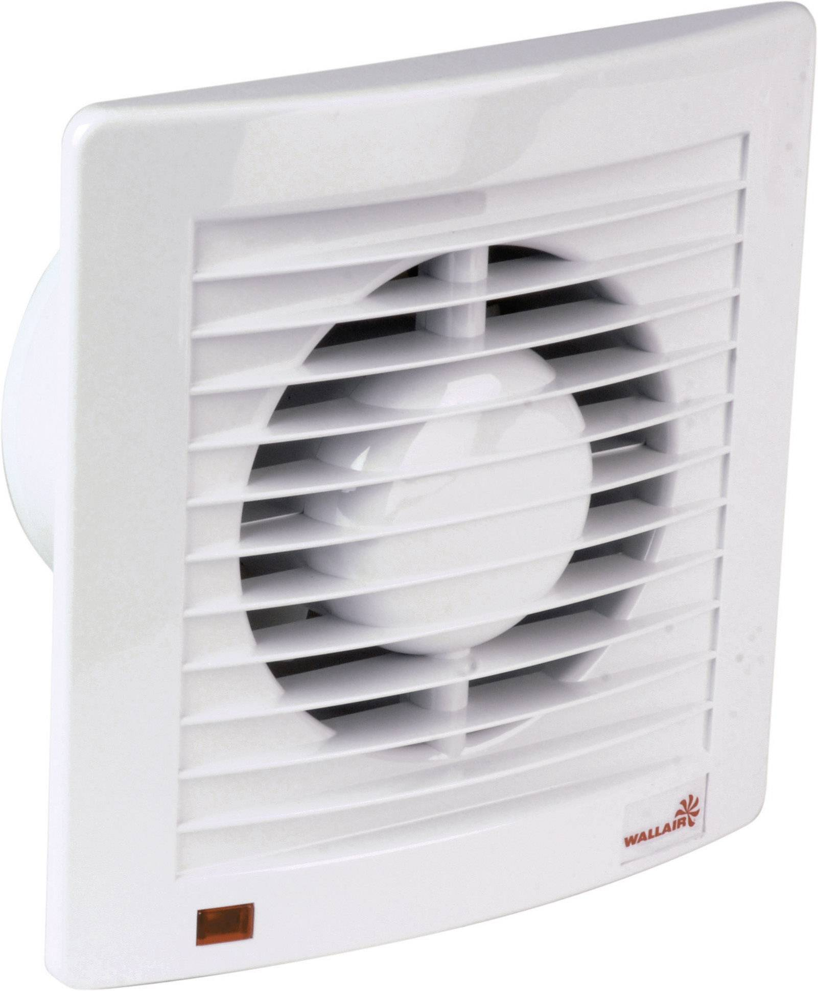 Nástenný a stropný ventilátor Wallair W-Style 100 mm, biely