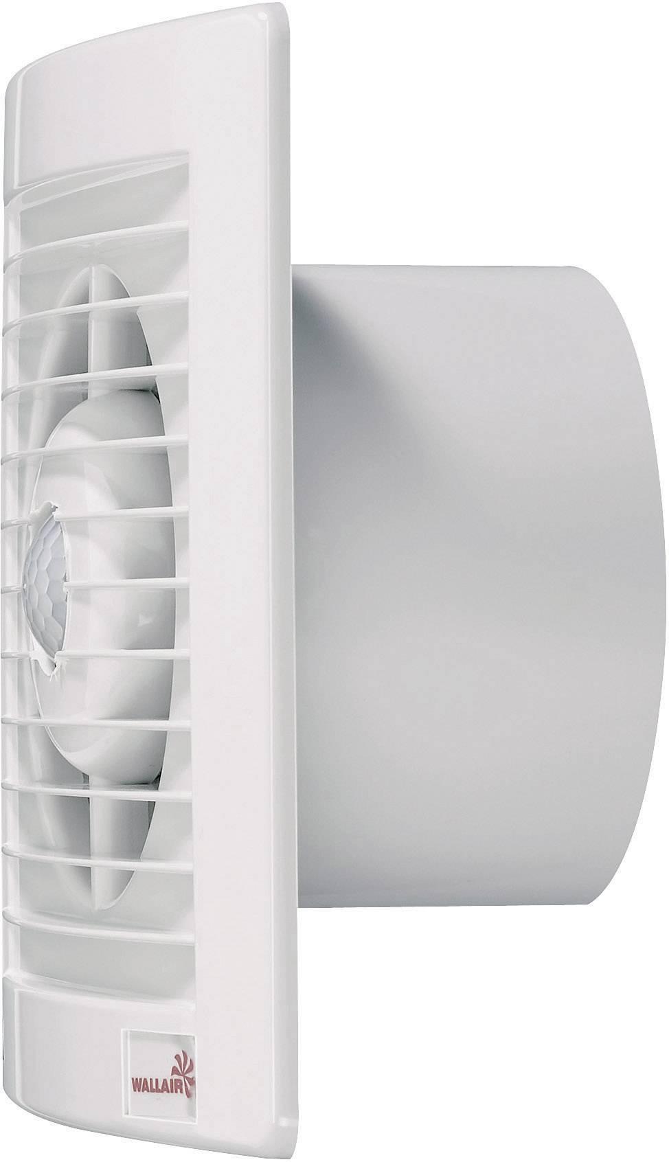 Nástenný a stropný ventilátor Wallair s PIR senzorom, W-Style 100 mm