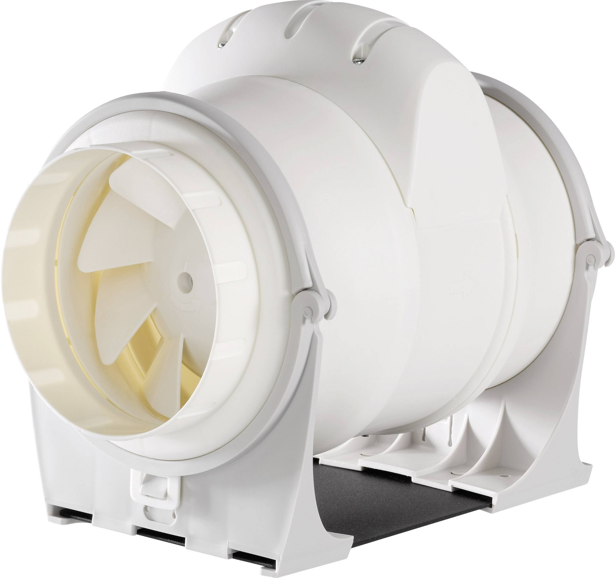 Venkovní potrubní ventilátor Wallair DUCT IN-LINE 125/320, bílá
