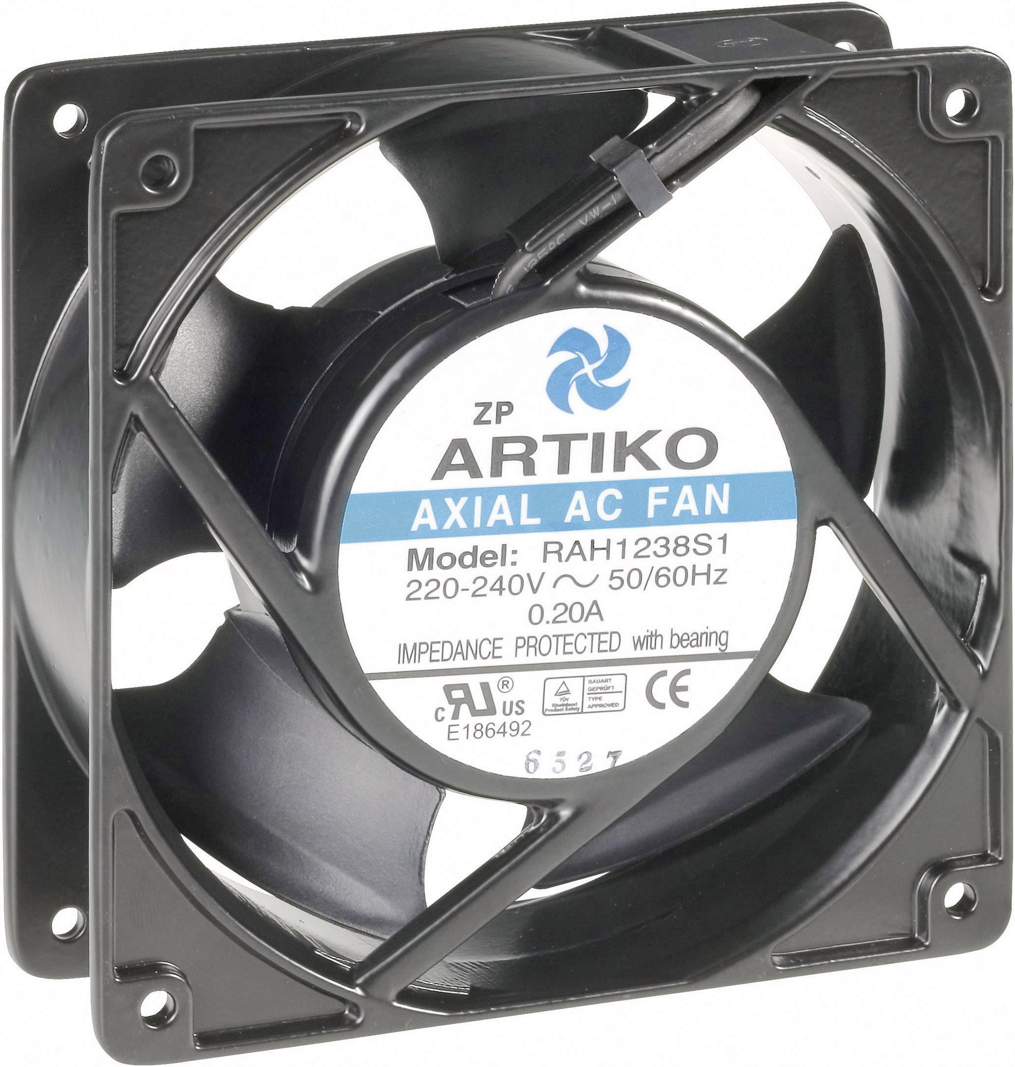 Axiálny ventilátor 28FR300 28FR300, 230 V/AC, 32 dB, (d x š x v) 120 x 120 x 38 mm