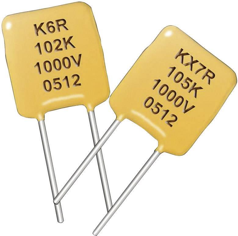 Kondenzátor keramický Kemet C317C104K5R5TA, 0,1 µF, 50 V, 10 %