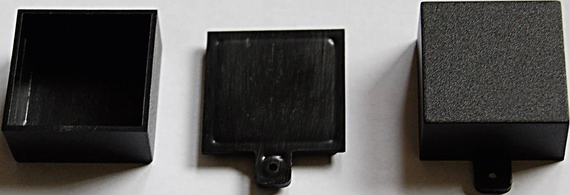 Modulová krabička WeroPlast 21008, 31 x 31 x 16 , ABS, černá