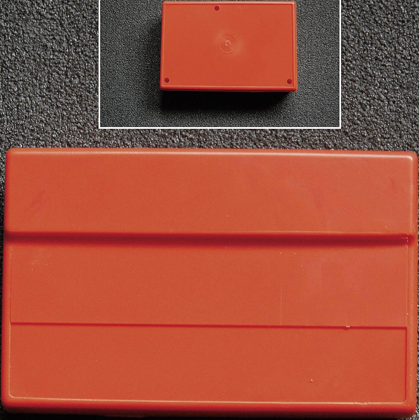 Pultové pouzdro ABS WeroPlast 3005, (d x š x v) 162 x 104 x 50 mm, černá