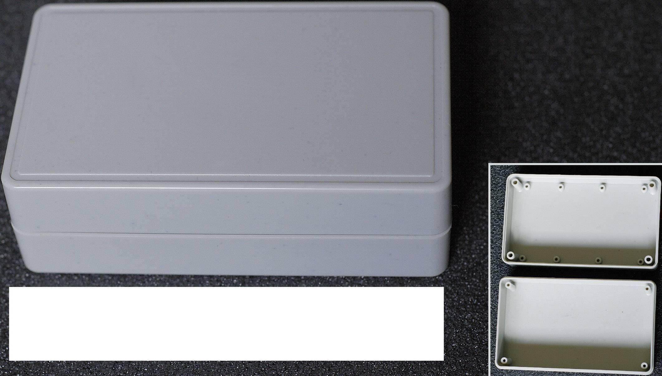 Univerzální pouzdro WeroPlast HITBOX 21009, 124 x 73 x 40 , ABS, šedá