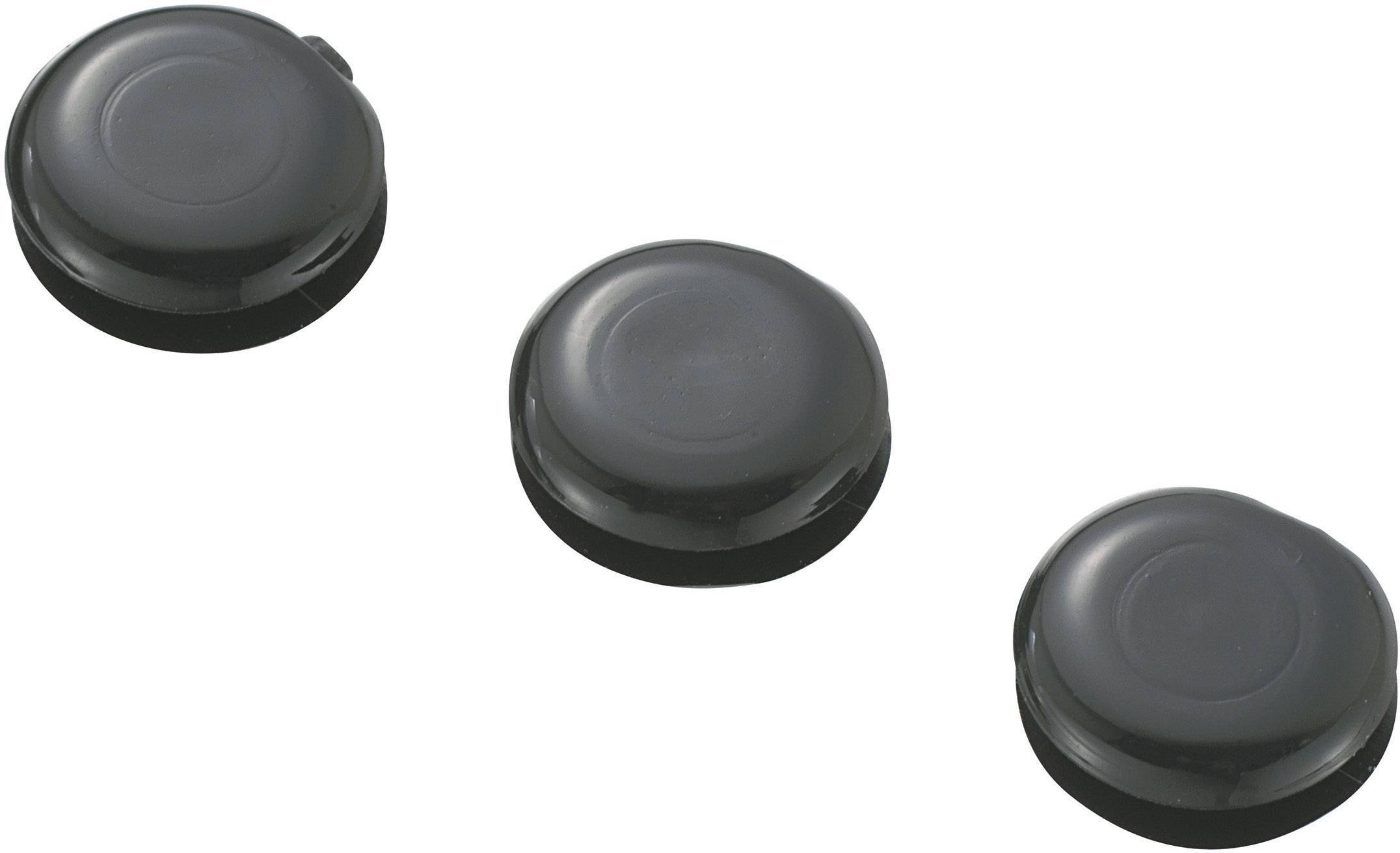 Káblová priechodka KSS GMCQR-0705, Ø 5 mm, PVC, čierna, 1 ks