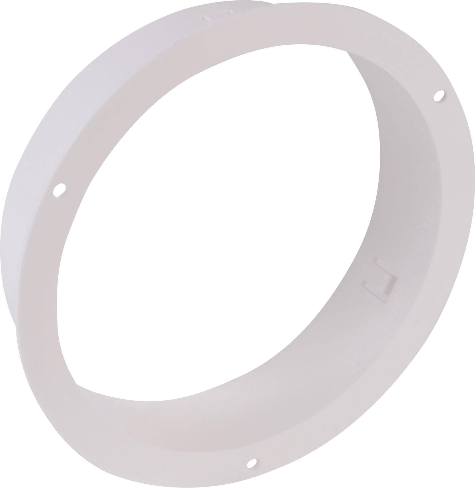 Pripojovacie hrdlo Wallair 100 mm, biele