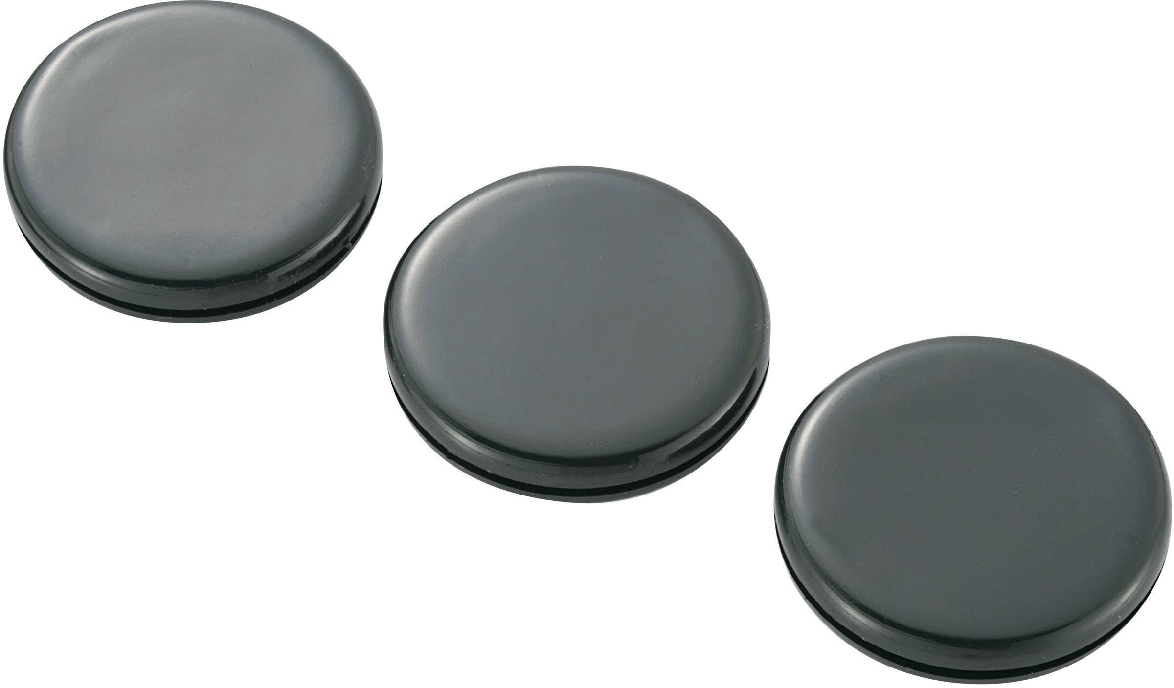 Káblová priechodka KSS GMCQR-3225, Ø 25 mm, PVC, čierna, 1 ks