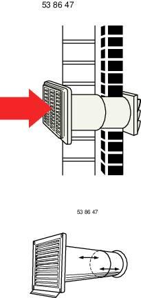 Odvětrávací kanál Wallair 100 mm