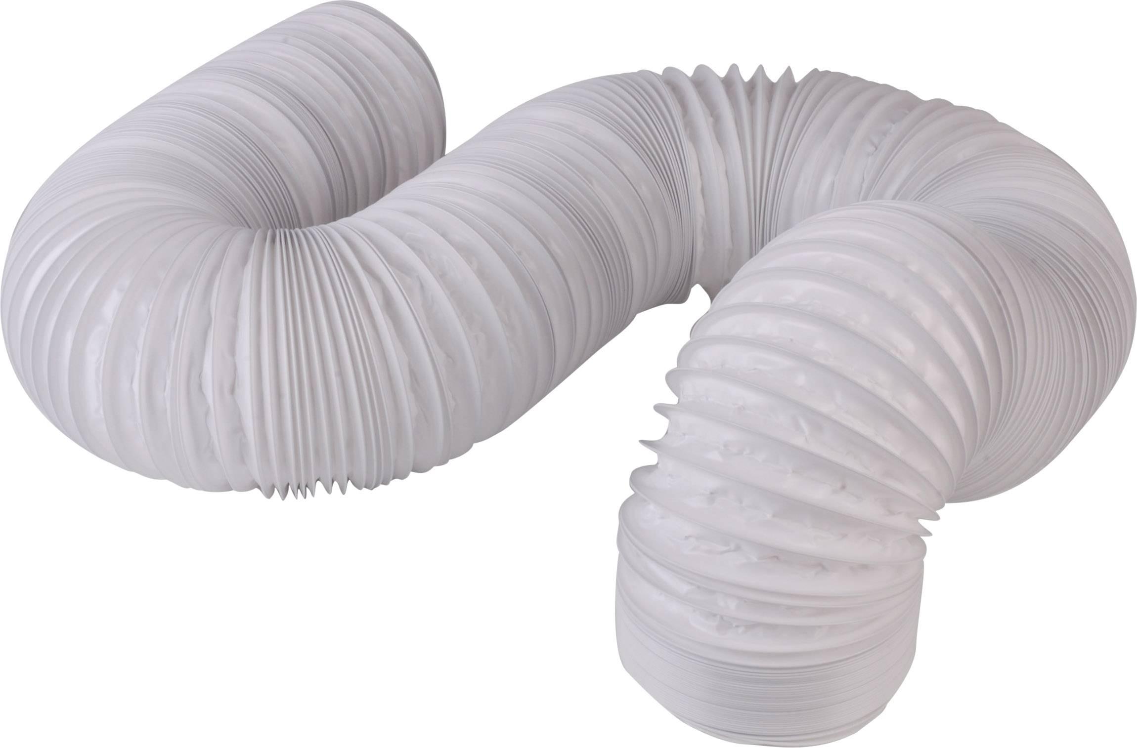 Flexibilní plastová spirálová hadice Wallair 102 mm, 6 m (20200010)