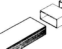 Plochý kanál Wallair, Typ 100, bílá