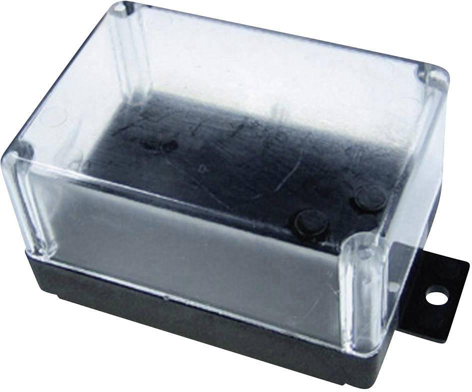 Univerzálne púzdro Kemo G021 G021, 72 x 50 x 40 , termoplast, čierna, priehľadná, 1 ks